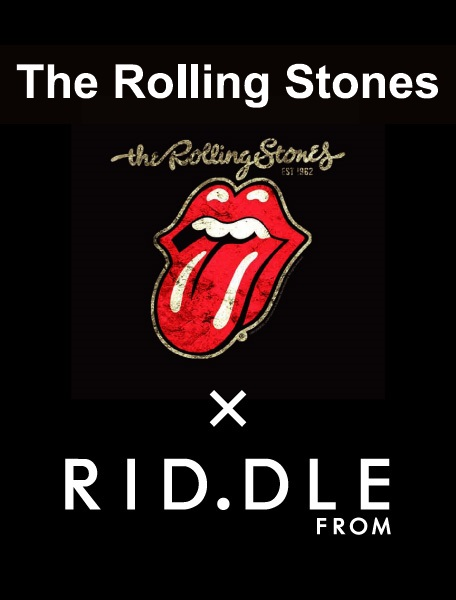 The Rolling Stones × rid.dle from…