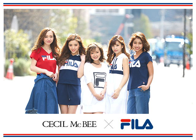 【FILA×CECIL McBEE】Special Collaboration