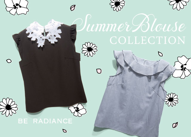 BE RADIANCE BLOUSE COLLECTION