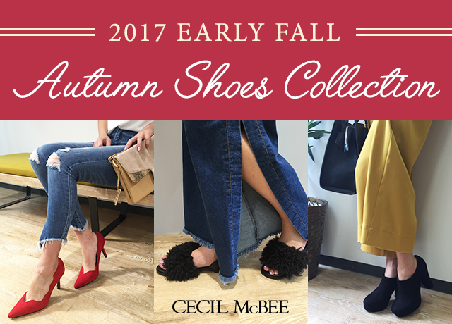 EARLY FALL SHOES COLLECTION