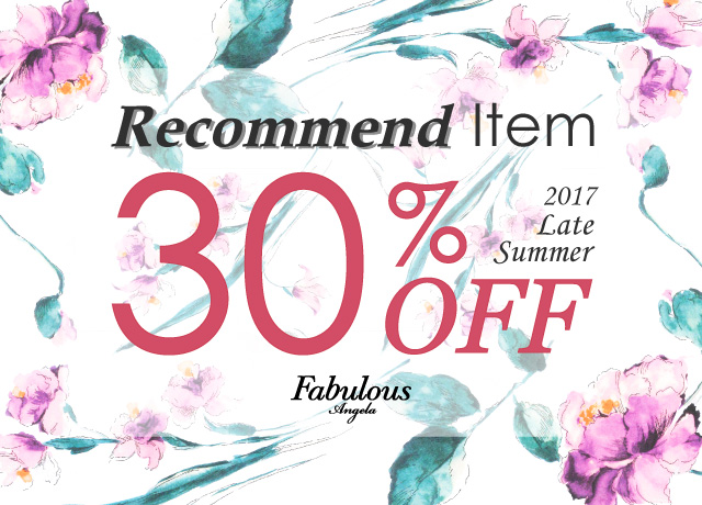 Recommend Item 30%OFF