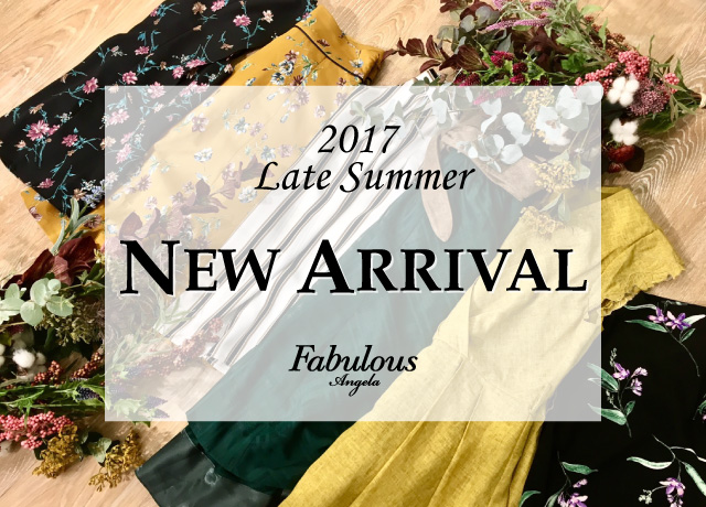 Late Summer NEW ARRIVAL