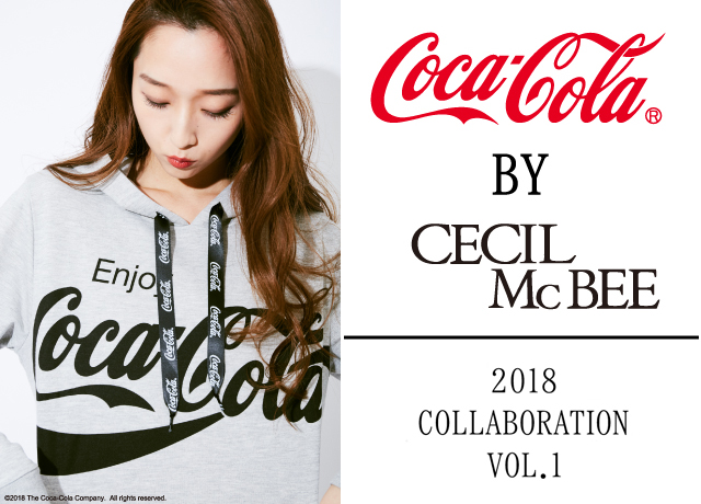 『コカ・コーラ』×CECIL McBEE 2018  COLLABORATION vol.1