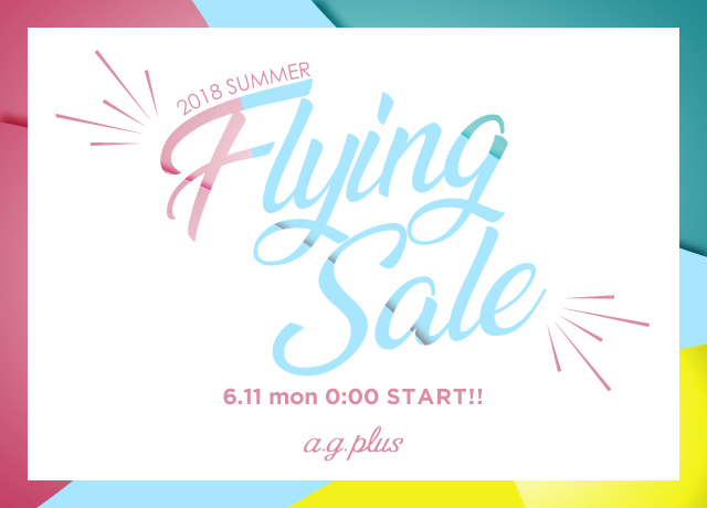 【FLYING SALE】