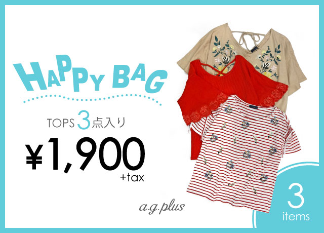 HAPPY BAG ¥1,900