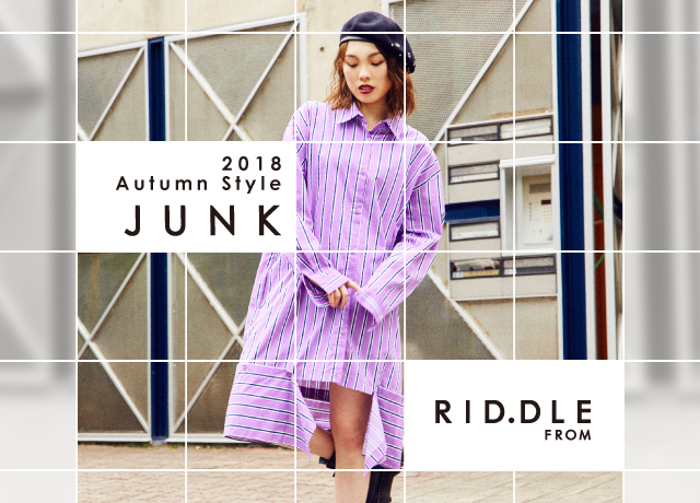 RID.DLE FROM<br> 2018Autumn Style