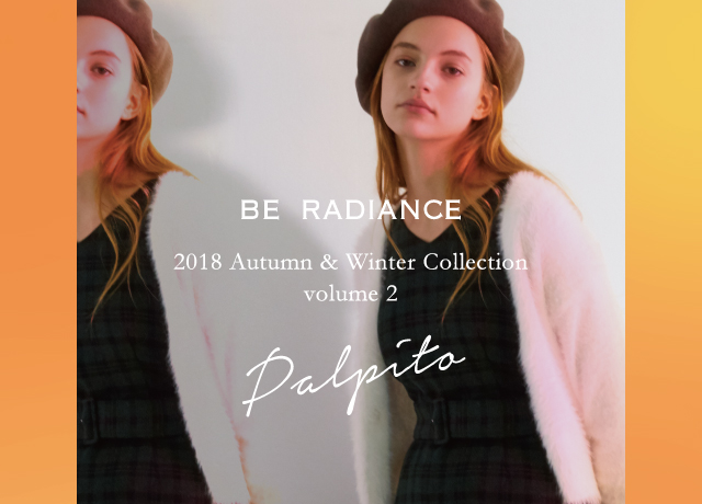 BE RADIANCE 2018 Autumn Winter Collection vol.2