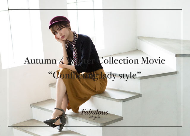 Fabulous Angela 2018 Autumn Winter Collection making movie