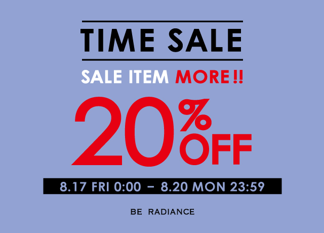 TIME SALE MORE 20%OFF