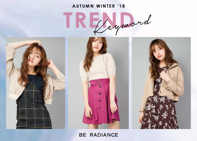 ' AUTUMN WINTER '18/TREND Keyword