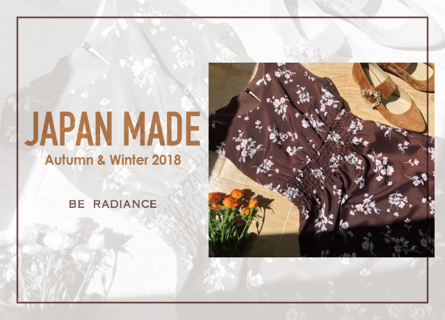 JAPAN MADE<br>Autumn&Winter 2018