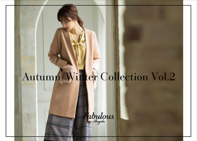 Fabulous Angela 2018 Autumn Winter Collection vol.2