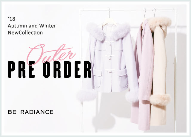 OUTER PRE ORDER<br>'18 Autumn and Winter