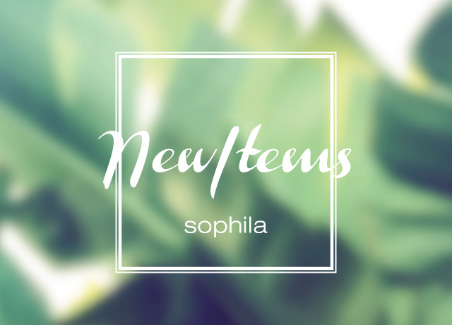 sophila 2018 NEW ITEM