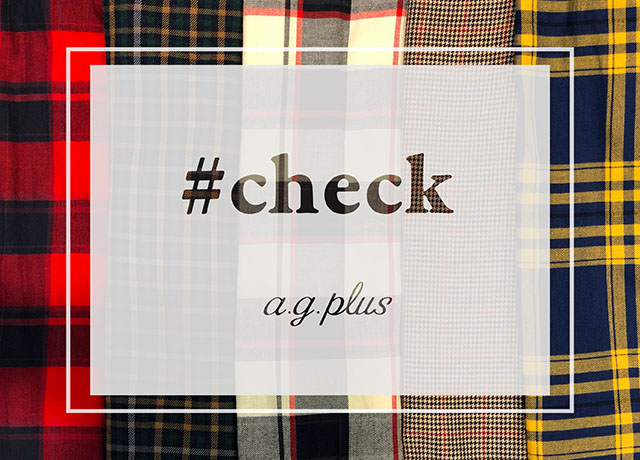 a.g.plus<br>2018 Autumn#check