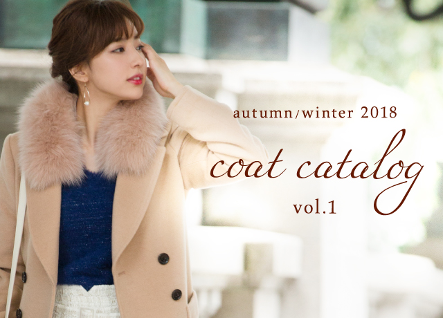 Fabulous Angela<br>Autumn/Winter 2018 <br>Coat Catalog Vol.1