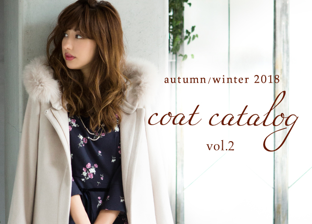 Fabulous Angela<br>Autumn/Winter 2018<br>Coat Catalog Vol.2