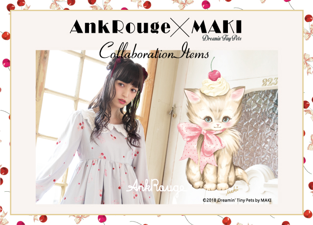Ank Rouge × MAKI Collaboration Item