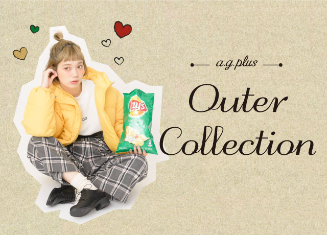 a.g.plus<br>2018 Outer Collection