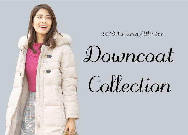 2018 Winter Down Coat Collection