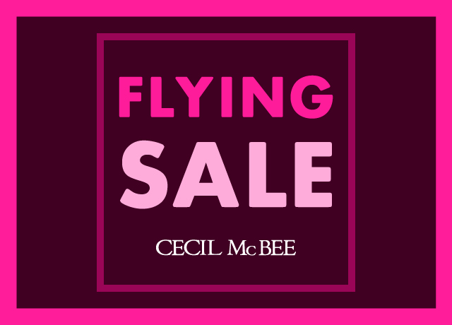2018 AW<br>【FLYING SALE】