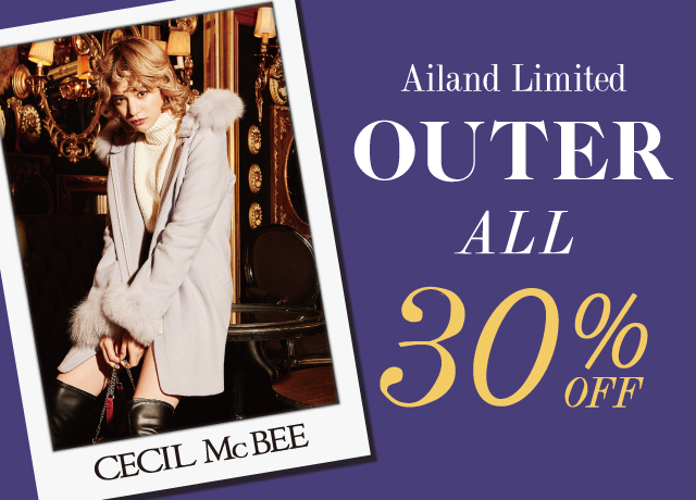 OUTER ALL 30%OFF