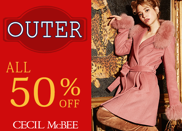 OUTER ALL 50%OFF