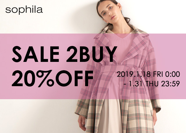 SALE 2BUY20%OFF