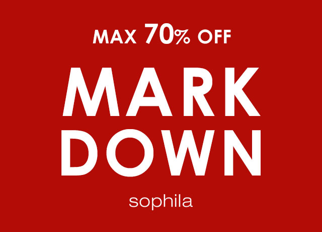 【MAX70%OFF】MARK DOWN