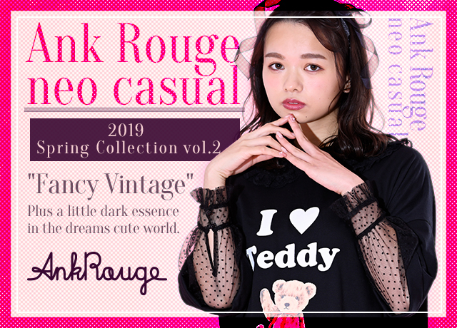 zussa×Ank Rouge<br>2019 Spring Collection Vol.2