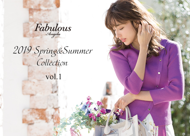 Fabulous Angela<br>2019 Spring & Summer Collection Vol.1
