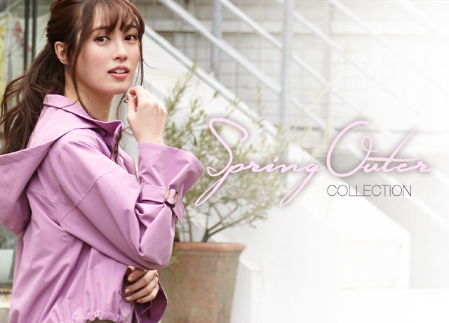 BE RADIANCE<br>Spring Outer Collection