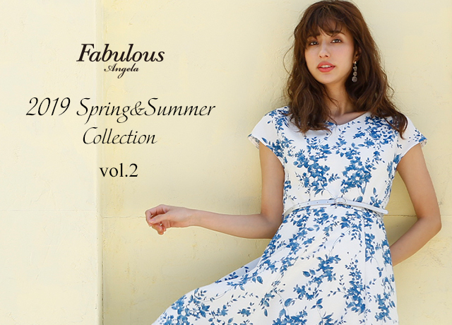 Fabulous Angela<br>2019 Spring & Summer Collection Vol.2