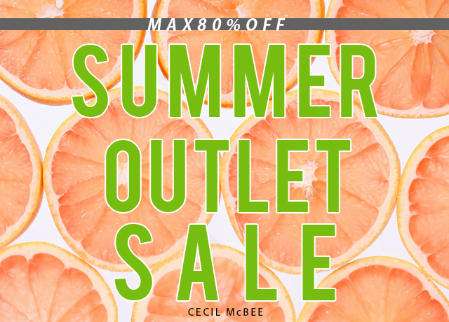 ★SUMMER OUTLET SALE★<br>MAX80%OFF