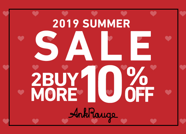 AnkRouge SALE 2BUY MORE 10%OFF