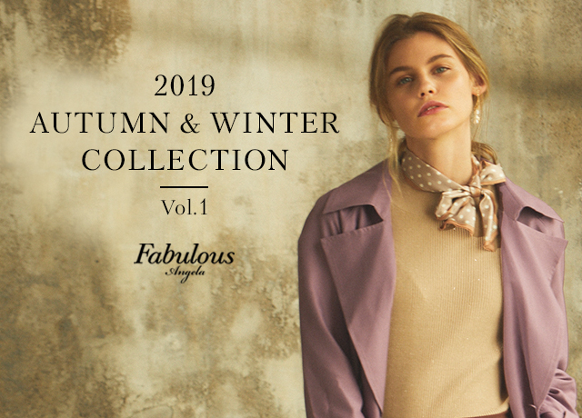 Fabulous Angela<br>2019 AUTUMN & WINTER COLLECTION Vol.1