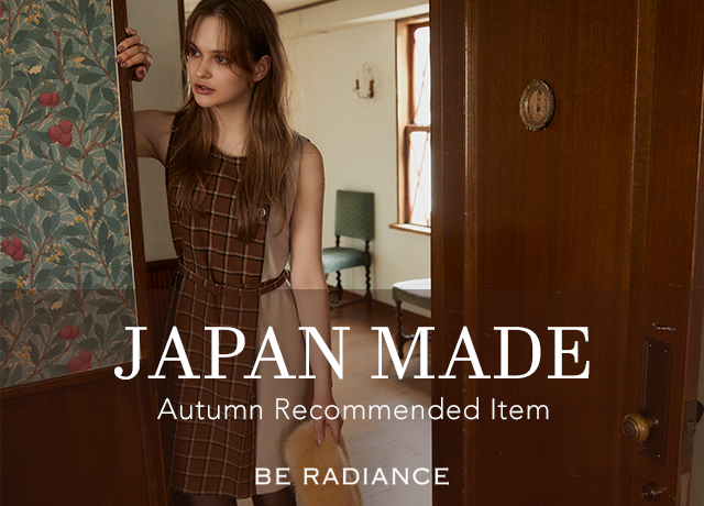 JAPAN MADE<br>AUTUMN RECOMMENDED ITEM