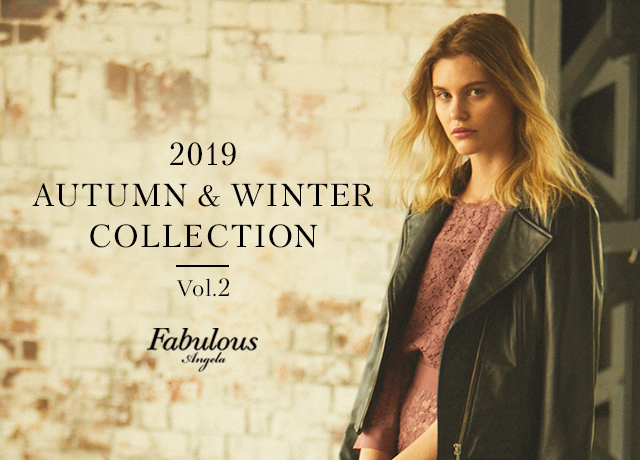 Fabulous Angela<br>2019 AUTUMN & WINTER COLLECTION Vol.2