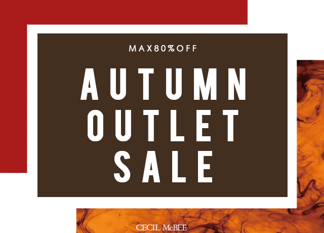 ★AUTUMUN OUTLET SALE★<br>MAX80%OFF