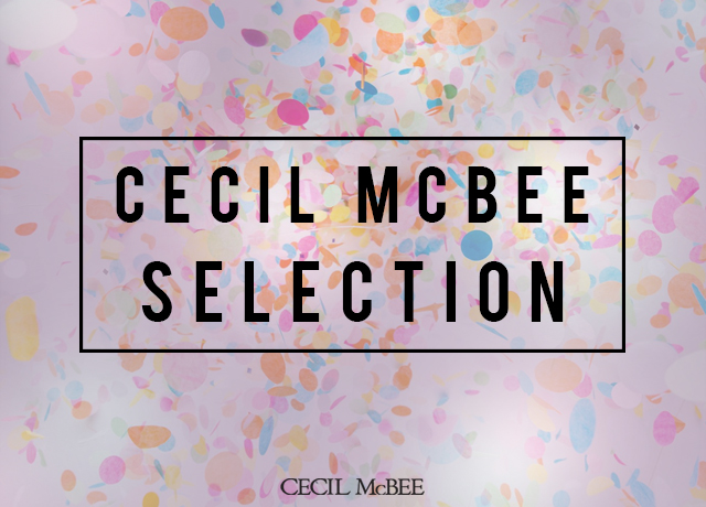 CECIL McBEE SELECTION<br>【ライセンス商品】