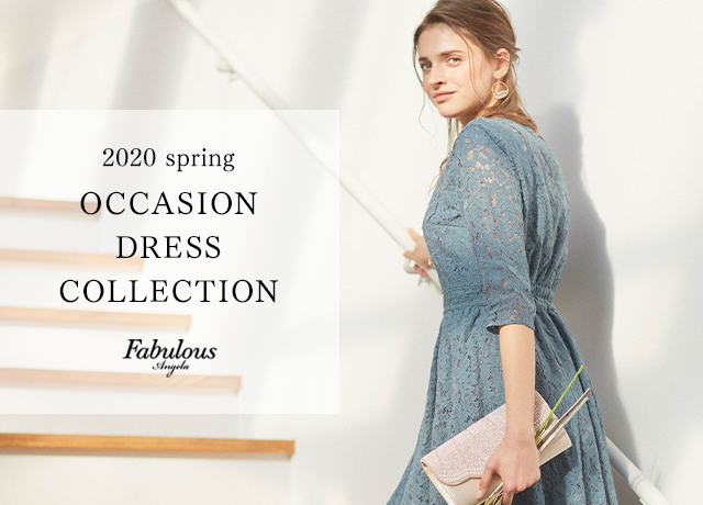 2020spring OCCASION DRESS COLLECTION