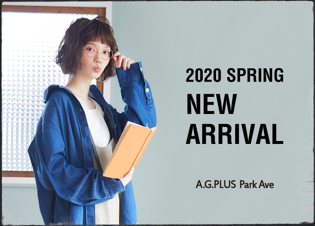A.G.PLUS Park Ave NEW ARRIVAL