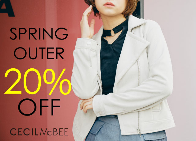 【SPRING OUTER 20%OFF】