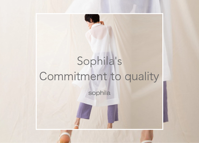 Sophila's Commitment to quality