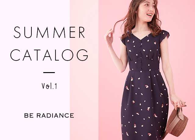 BE RADIANCE<br>SUMMER CATALOG Vol.1