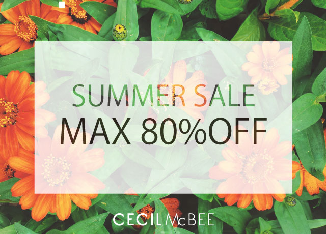 ★SUMMER SALE★<br>MAX80%OFF!