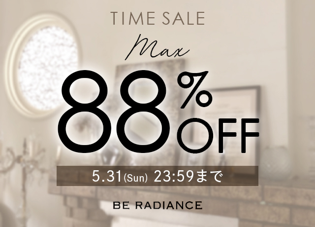 【TIME SALE】MAX88%OFF!