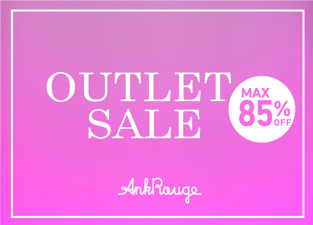 OUTLET SALE MAX85%OFF