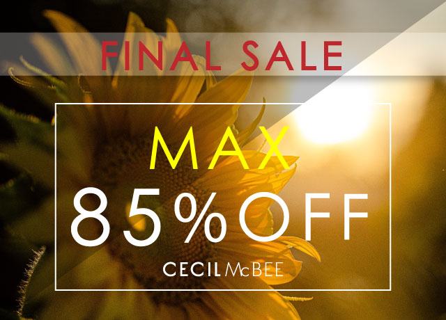 ★FINAL SALE★<br>MAX85%OFF!!